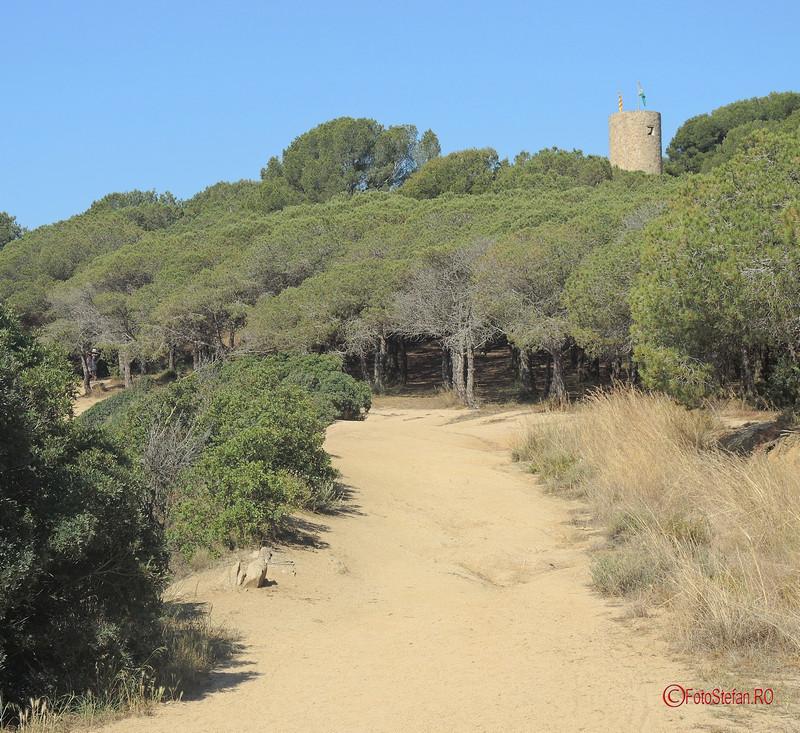 foto castel Sant Joan's lloret de mar costa brava spania
