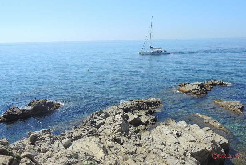poza cataraman marea mediterana lloret de mar costa brava
