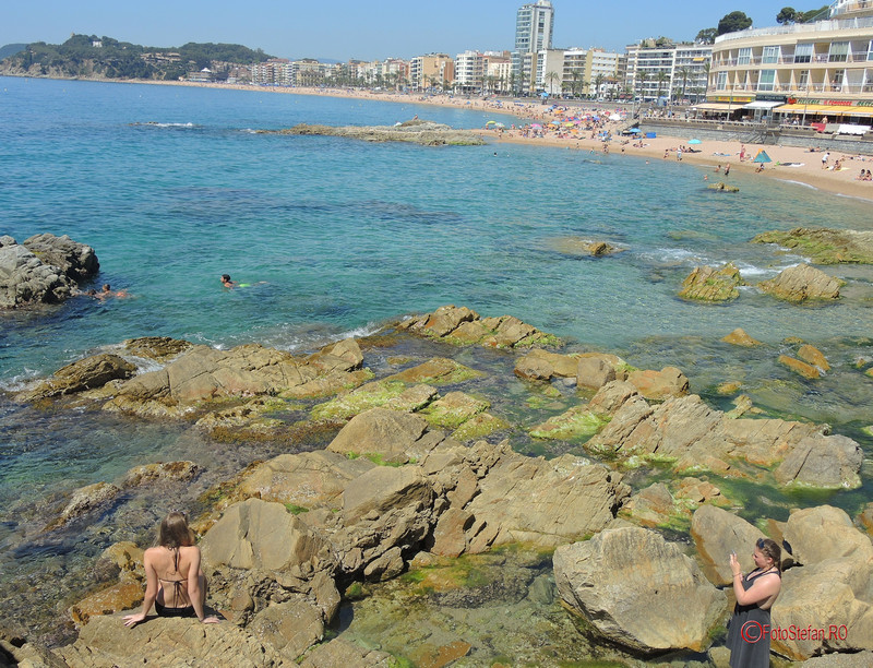 poze statiune turistica litoral lloret de mar costa brava
