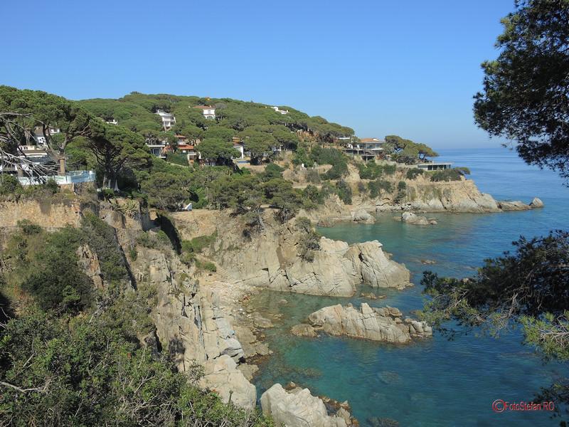 poza peisaj lloret de mar catalonia costa brava