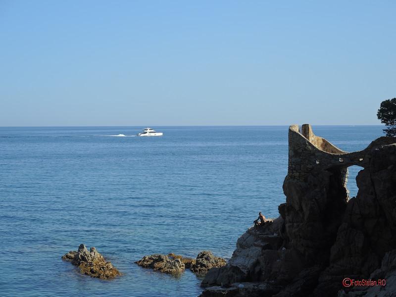 poza vaporas yaht lloret de mar castel