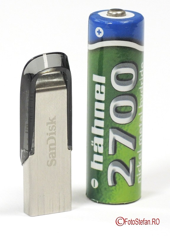 review test SanDisk Cruzer Ultra Flair 128GB stick memorie USB 3.0
