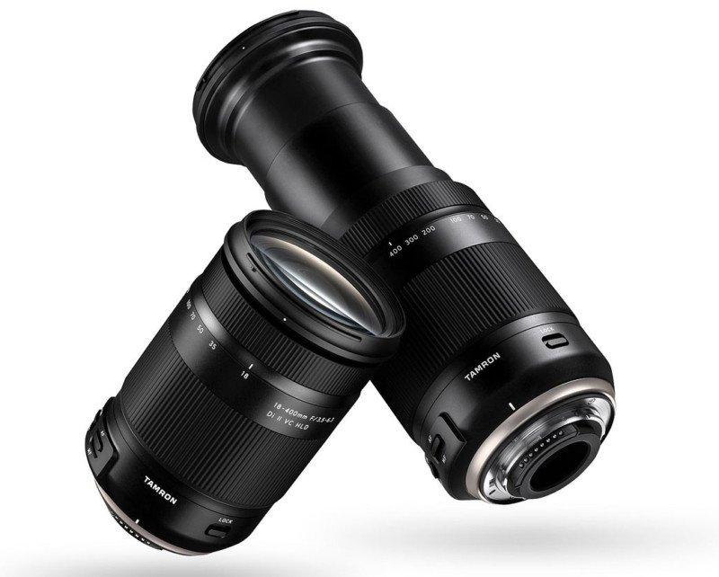 poza zoom 22x Tamron 18-400mm modelul B028