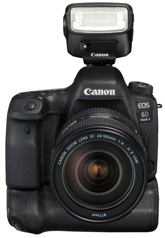 poza dslr Canon 6D Mark II  EF 24-105mm f/4 IS USM L II blit extern