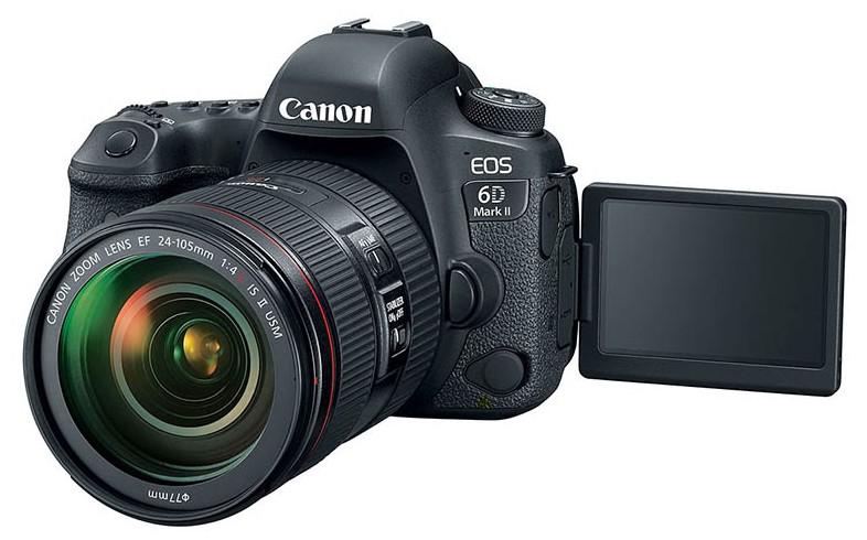 poza dslr Canon EOS 6D Mark II