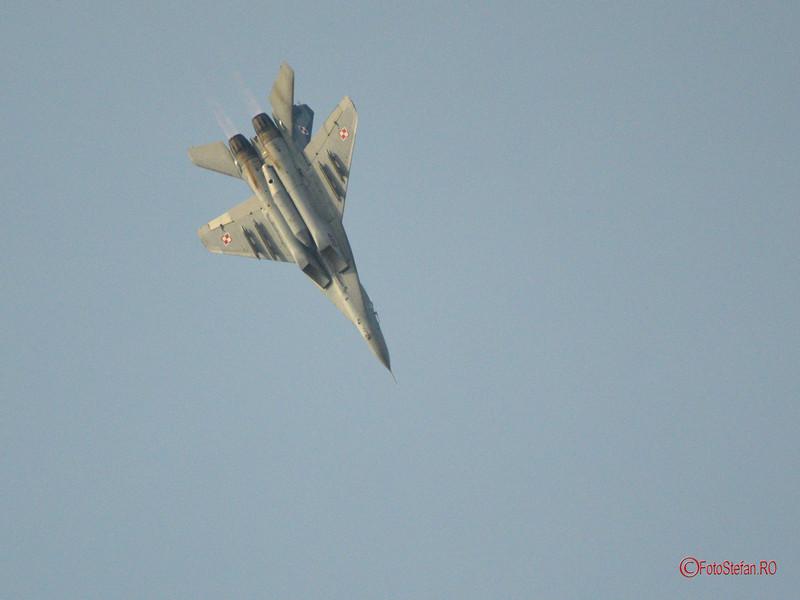 poza MiG 29 Fulcrum  Bucharest International Air Show  BIAS 2017