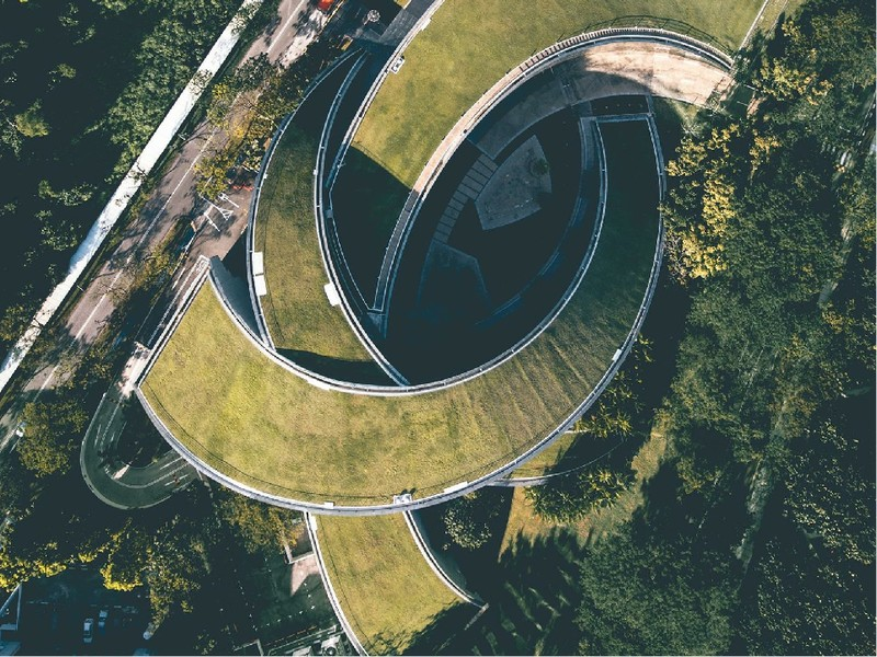 poza cladire singapore Nanyang Technological University (NTU)