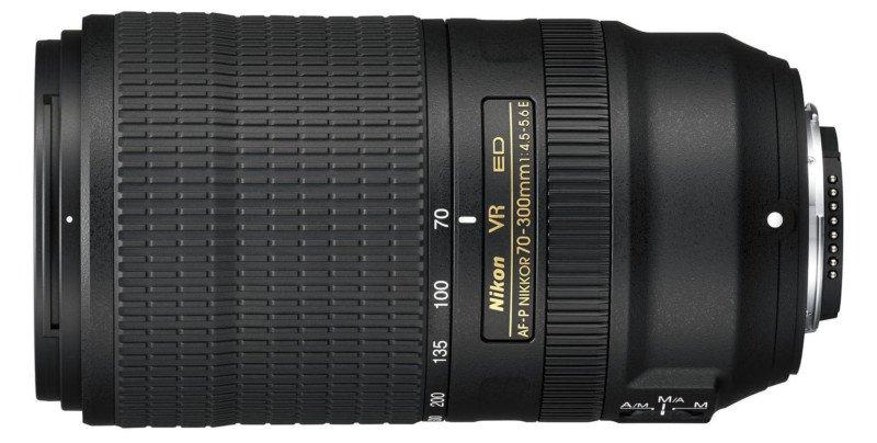 poza obiectiv zoom Nikon AF-P 70-300mm f/4.5-5.6E ED VR