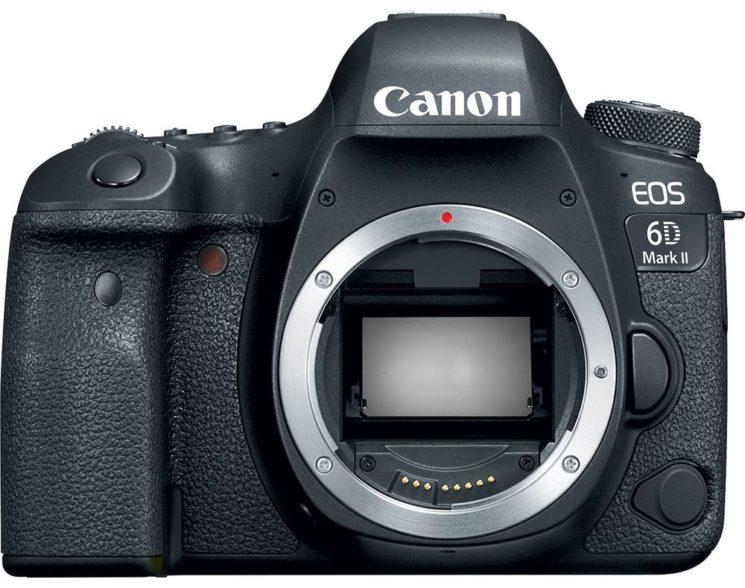 poza aparat foto dslr Canon 6D Mark II