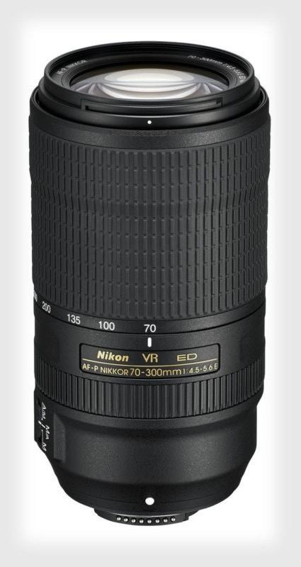 poza teleobiectiv zoom nikon NIKKOR AF-P 70-300mm f/4.5-5.6E ED VR