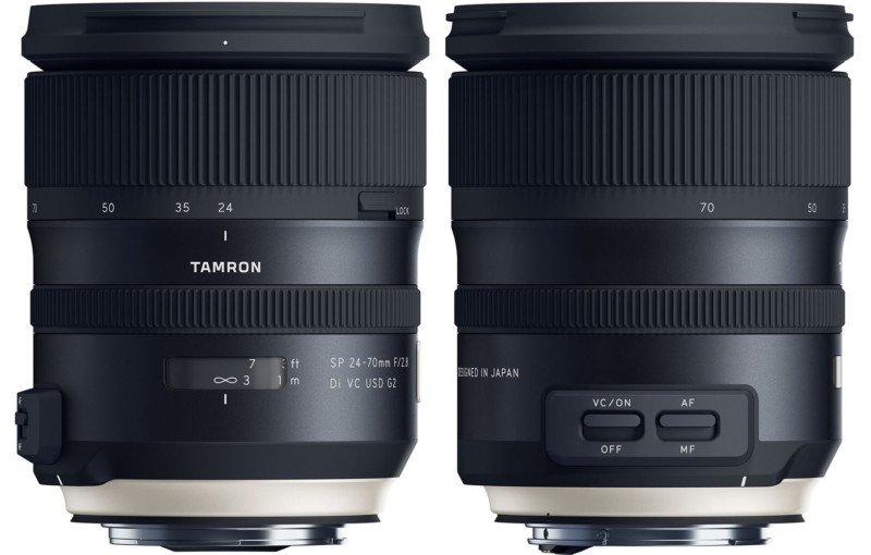 poza obiectiv dslr Tamron 24-70mm F/2.8 Di VC USD G2