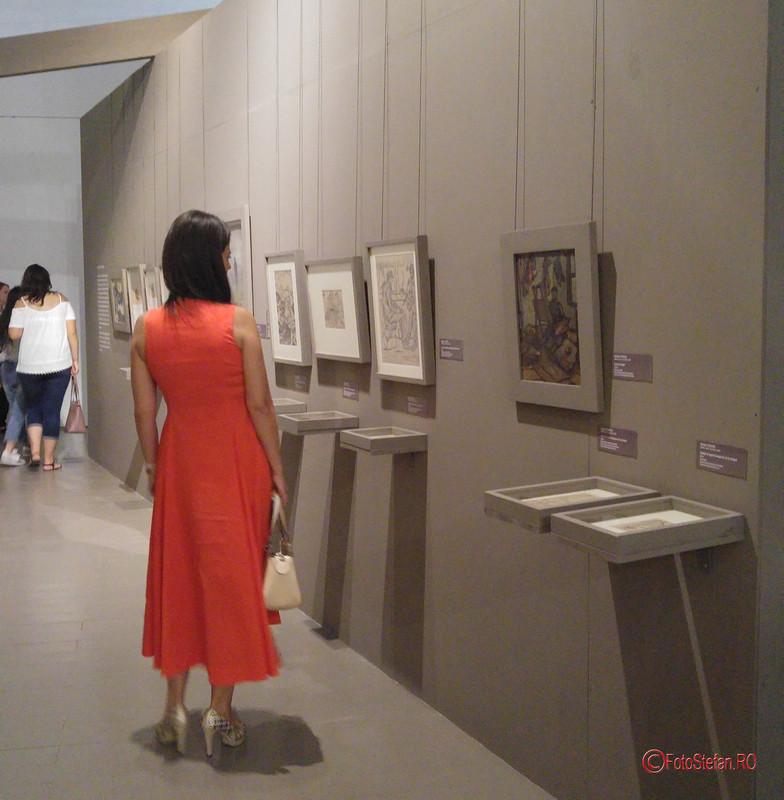 poza vernisaj expozitie Muzeul Național de Artă al României MNAR