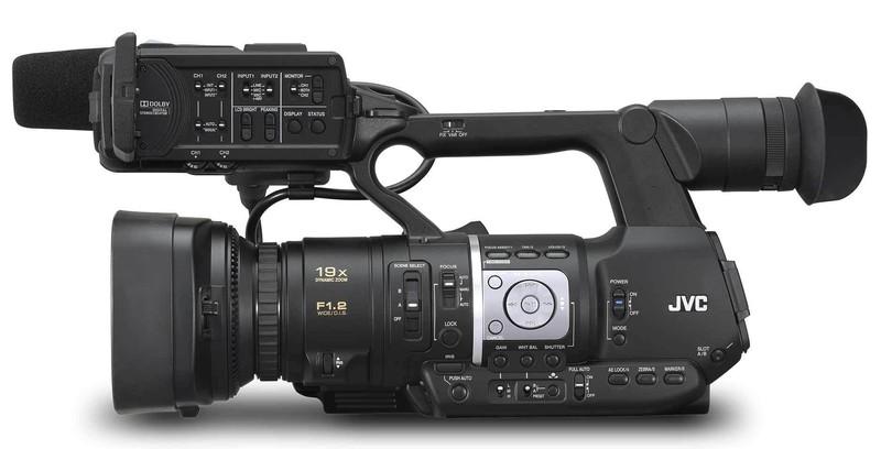 poza camera video japoneza JVC JY-HM360E ProHD