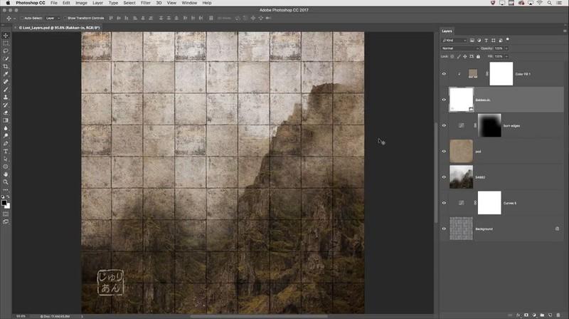 cum sa folosesti layers photoshop tutorial gratuit