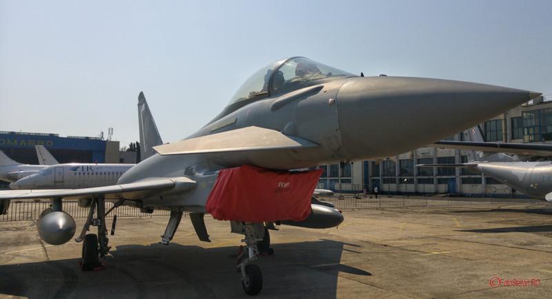 poza foto Eurofighter Typhoon bucuresti baneasa