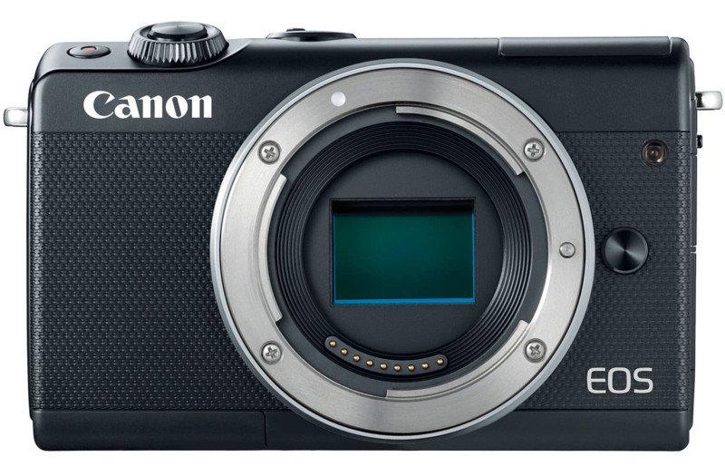 poza senzor aparat foto mirrorless canon eos m100