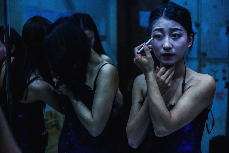 poza fata machiaj chinezoaica dansatoare club china