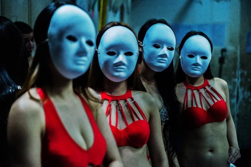 poza fete mascate dansatoare club china