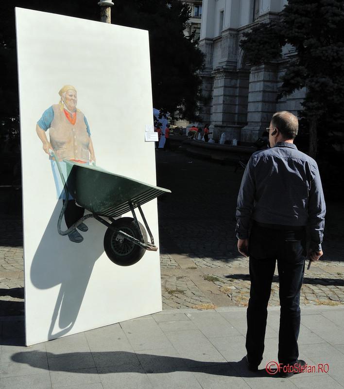 poza arta instalatie glodeanu dumitru mihai Art Walk Street 2017 #AWS  Piata Revolutiei Bucuresti