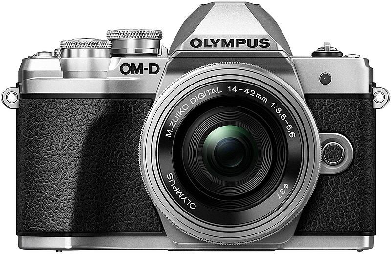 mirrorless argintiu Olympus OM-D E-M10 Mark III