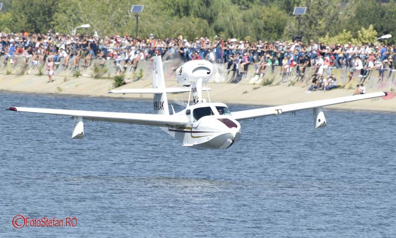 poze Hidroavionul LA-4-200  AeroNautic Show 2017 Bucuresti lacul Morii