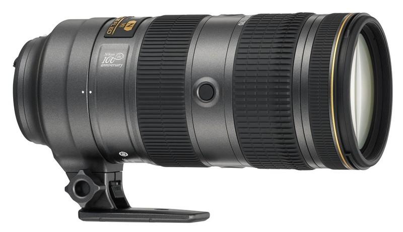 poza zoom nikon NIKKOR AF-S 70-200mm f/2.8E FL ED VR 100 ani