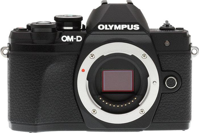 poza senzor aparat foto mirrorless Olympus OM-D E-M10 Mark III