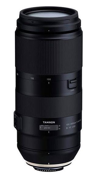poza foto teleobiectiv zoom Tamron 100-400mm F/4.5-6.3 Di VC USD