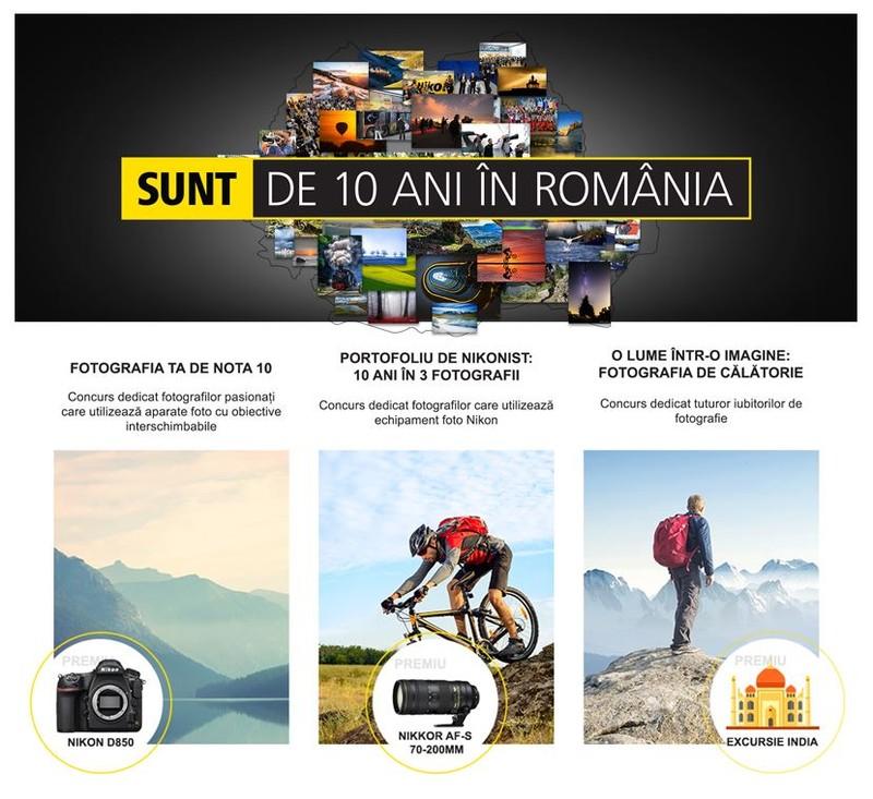 Concurs foto premii 10 Ani Nikon in Romania