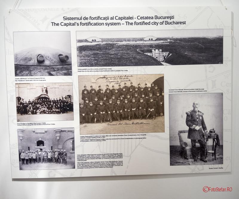poza document istoric sistem fortificatii bucuresti