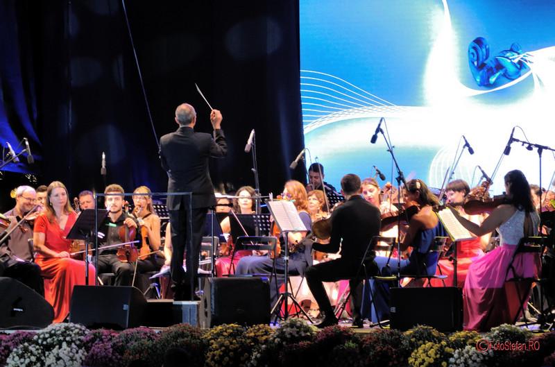 "foto poza Orchestra Simfonica Bucuresti  dirijor Benoît Fromanger  Festivalul International ""George Enescu"" 2017"