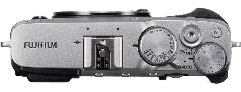 poza butoane aparat foto mirrorless Fujifilm X-E3