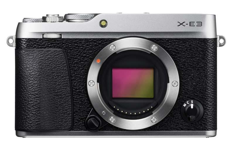 poza senzor aparat foto mirrorless Fujifilm X-E3