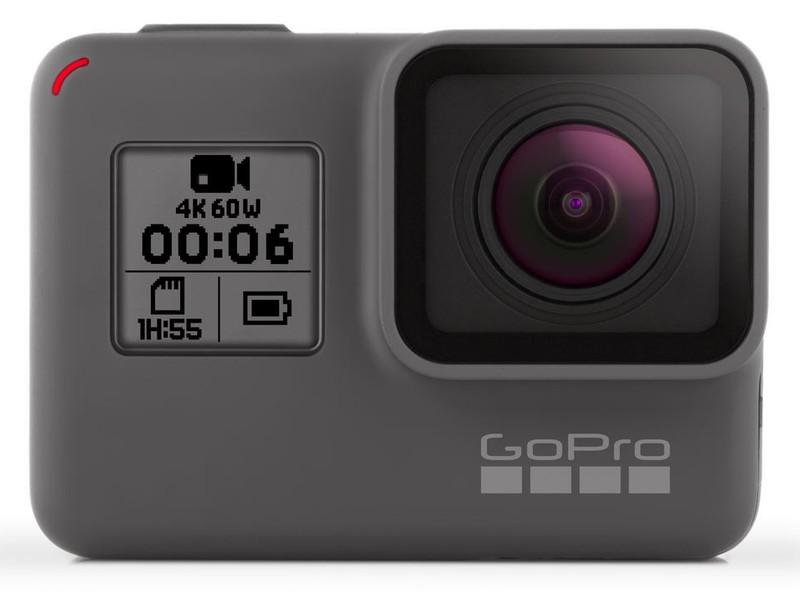 poza camera video 4K compacta GoPro HERO6