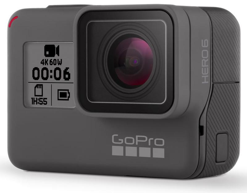 poza camera video actiune GoPro HERO6 negru