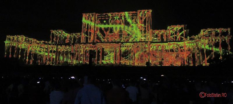 poze concurs videomapping 3D  #iMapp #bucharest casa poporului
