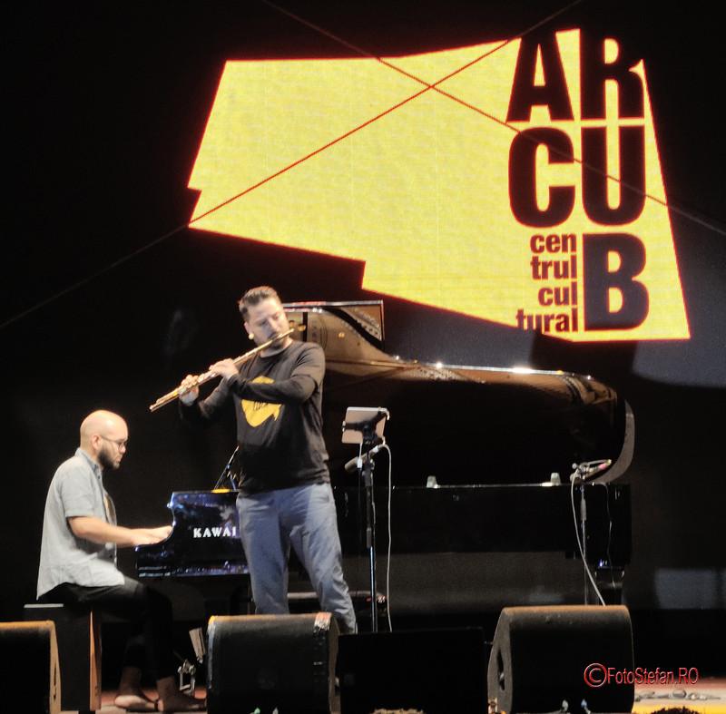 poze fotografii festivalul muzica george enescu pian flaut