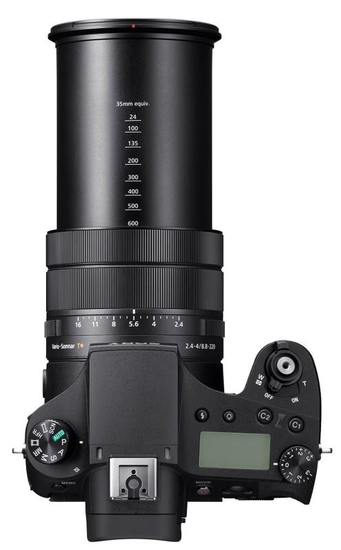poza zoom aparat foto bridge Sony Cyber-shot DSC-RX10 IV