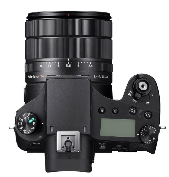 poza aparat foto bridge zoom 25x Sony Cyber-shot DSC-RX10 IV