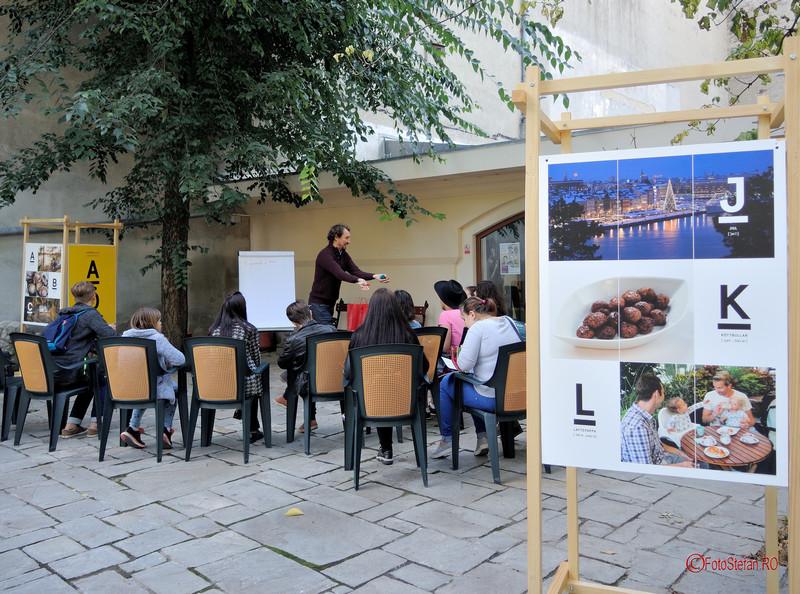 poze fotoreportaj #EDLangs Ziua Europeana a Limbilor 2017  Bucuresti Casa Filipescu Cesianu