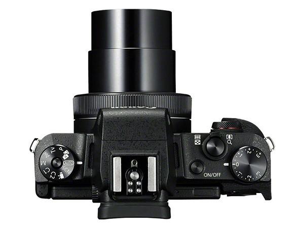 poza zoom aparat foto compact Canon G1 X Mark III