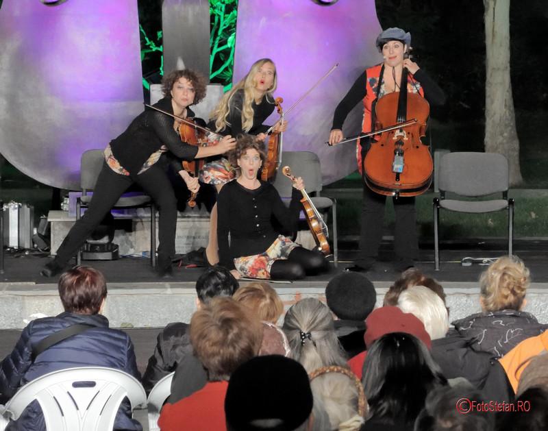 fotografii fete vioara violoniste The Quartetto Euphoria simfonii de vara parcul coltea bucuresti 2017