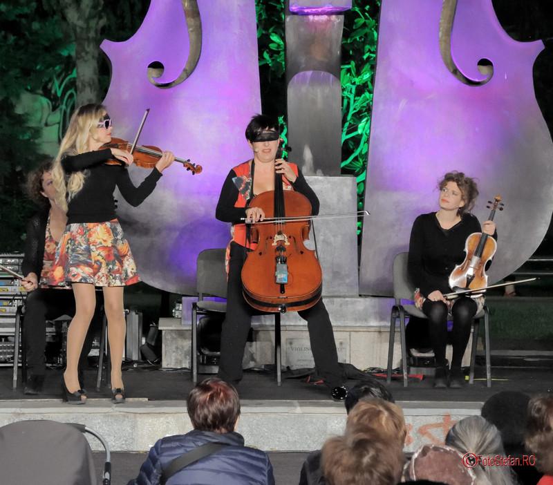 The Quartetto Euphoria simfonii de vara parcul coltea bucuresti 2017