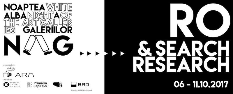 program cercetare arta cultura Programul Search & Research RO - Noaptea Alba a Galeriilor NAG