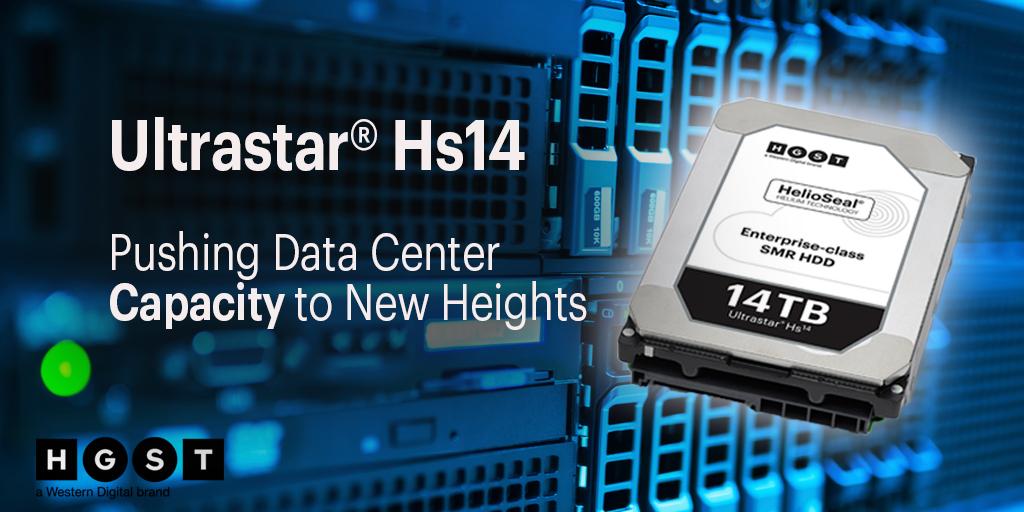 poza hdd hard disk 14TB Western Digital HGST UltraStar Hs14