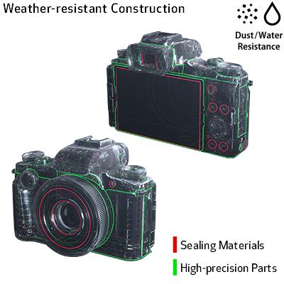aparat foto compact protectii picaturi apa praf Canon G1 X Mark III