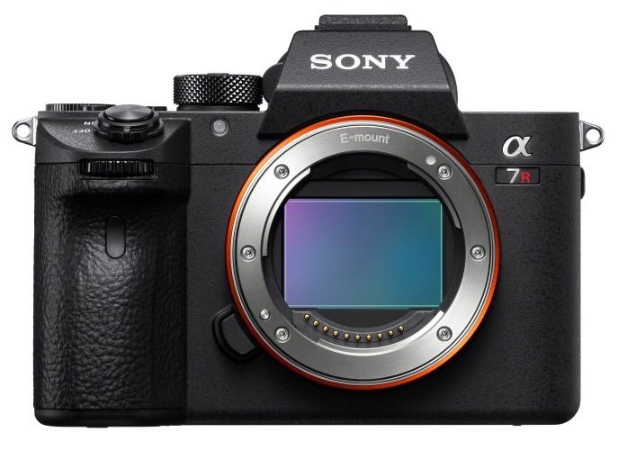 poza senzor full frame mirrorless Sony A7R III α7R III model ILCE-7RM3