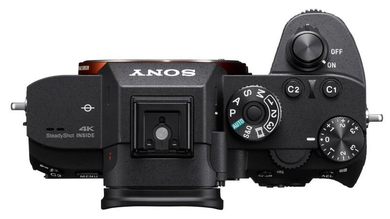 poza butoane mirrorless Sony A7R III α7R III model ILCE-7RM3