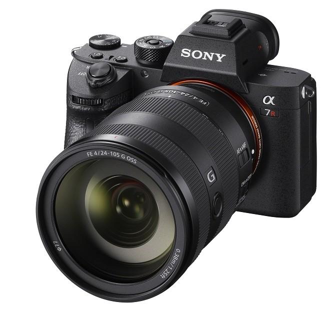mirrorless full frame sony a7r iii obiectiv Sony FE 24-105mm F4 G OSS modelul SEL24105G