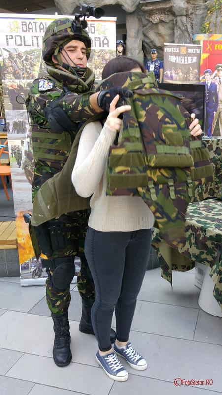 poza fotografie fata vesta antiglont militara afii cotroceni bucuresti